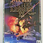 PC RETRO GAME STAR WARS REBEL ASSAULT II 2 - jeu StarWars