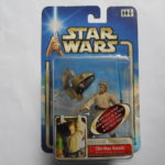 "StarWars figurine : STAR WARS HASBRO FIGURINE "" OBI-WAN KENOBI  "" ATTACK OF THE CLONES   MIB"