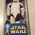 "StarWars figurine : STAR WARS CLONE TROOPER - Attack of the Clones - Action Figure 12"" NIB / NRFB"