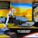 StarWars collection : Hasbro Star Wars The Rise of Skywalker First Order Driver & Treadspeeder Vehicle