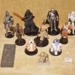 Figurine StarWars : COLLECTION 11 DISNEY STORE STAR WARS ACTION FIGURE FIGURINES RARE YODA LUKE BOBA