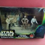 Figurine StarWars : STAR WARS PURCHASE OF THE DROIDS LUKE OWEN C 3PO - POWER FORCE - 1997 - R 3681