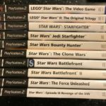 10 PLAYSTATION 2 PS2 STAR WARS BUNDLE - Bonne affaire StarWars