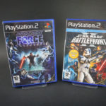Star Wars The Force Unleashed et Front 2 - jeu StarWars