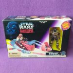 StarWars collection : Figurine Playset Star Wars Shadows Of The Empire Swoop Kenner Sealed