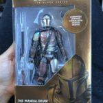 "StarWars figurine : TARGET Exclusive Star Wars The Black Series 6"" Carbonized Mandalorian 2019"
