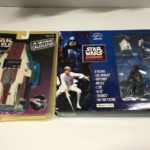 StarWars figurine : 1997 STAR WARS A Wing Calculator & Applause 1995 Collector Series Figurines Lot