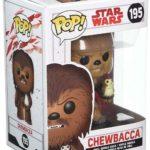 StarWars collection : Funko- Pop Bobble-Star Wars-E8 TLJ-Chewbacca with PORG, 14748 multi-colored
