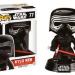 """StarWars figurine : STAR WARS EPISODE VII Figurine KYLO REN LIMITED  """"POP"""" 10 cm"""