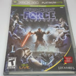Star Wars: The Force Unleashed Xbox 360 NTSC - Avis StarWars