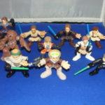 Figurine StarWars : 9 Star Wars Galactic Heroes Figurines Lot #4 en Vrac Star Wars Kp
