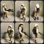 "StarWars figurine : Star Wars Classique POTF2 Rebel Flotte Trooper 3.75 "" Figurine"