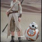 "StarWars collection : Hot Toys Star Wars: The Force Awakens Rey & BB-8 Figurine Set 1/6 Echelle 12 """