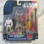 Figurine StarWars : Star Wars Pouvoir de la Force Luxe Skywalker Luke Désert Sport Skiff - Nouveau