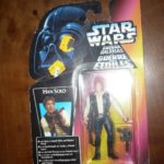 StarWars collection : Star Wars Figurine Kenner années 90 - Han Solo version B - sous blister
