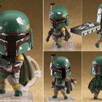 StarWars collection : Nendoroid 706 Star Wars Episode 5 Boba Fett PVC Action Figurine Statue No Box