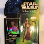 StarWars collection : STAR WARS the power of the force green card, princess leia organa