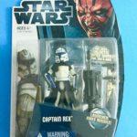 StarWars collection : Star Wars Clone Wars Capitaine Rex Cw13