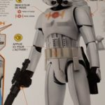 "StarWars figurine : STAR WARS Interactif plus de 65 Phrases et Sons  Figurine "" STORMTROOPER  "" NEUF"