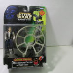 StarWars collection : Hasbro Star Wars Pouvoir de la Force Han Solo Millennium Falcon Mitrailleur