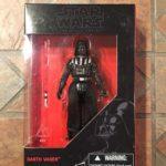 "StarWars collection : Star Wars Noir Darth Vader 3.75 "" Wal-Mart Figurine Sith Lord Empire Jedi"