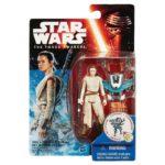 StarWars figurine : Star Wars The Force Awakens 3.75-Inch Figurine Neige Mission Rey + Aile Lance