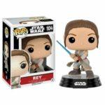 StarWars figurine : Star Wars: The Force Awakens Rey with Lightsaber Pop! Vinyl Figure