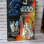 StarWars figurine : Figurine Kenner STAR WARS Power of the Force POTF MIB 1995  PRINCESS LEIA pistol
