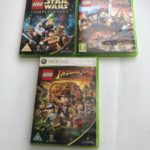 X 3 Xbox 360 Lego Game Bundle LOTR Star Wars - Bonne affaire StarWars