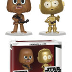 StarWars collection : Funko Vynl - Star Wars Chewbacca et C-3PO Vinyle Figurines