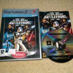 STAR WARS BATTLEFRONT II - Rare Sony PS2 Game - Bonne affaire StarWars