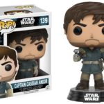 StarWars collection : Funko POP! Vinyl Star Wars Rogue One Captain Cassian Andor Model Figurine No 139
