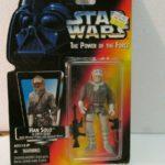 Figurine StarWars : Star Wars Tpotf Han Solo en Hoth Gear Figurine Rouge Carte de Hasbro 1995 Neuf