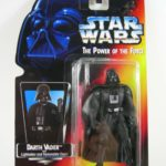 StarWars collection : Star Wars Darth Vader Power Of The Force Red/Orange Card 1995 Figurine