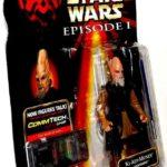 StarWars figurine : Star Wars Episode I KI-ADI-MUNDI Action Figurine Lightsaber Hasbro 1998