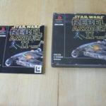 PS1 GAME - Star Wars Rebel Assault II (Sony P - Bonne affaire StarWars