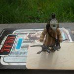 Figurine StarWars : Logray / Star Wars vintage Kenner ROTJ 83*  Complet + carte 100 % original