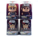 StarWars collection : Mighty Muggs Star Wars Figures Lot Of 4 Luke Skywalker Han Solo Poe Dameron