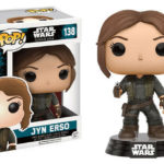 StarWars collection : Star Wars Rogue One Jyn Erso POP #138 Vinyl Figure FUNKO