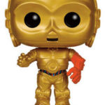 Figurine StarWars : Star Wars VII The Force Awakens C-3PO C3-PO POP Star Wars #64 Vinyl Figure FUNKO