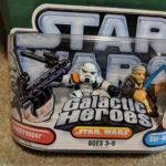 Figurine StarWars : Hasbro Star Wars Galactic Heroes Sandtrooper & Obi-Wan Kenobi