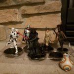 Figurine StarWars : Star Wars The Force Awakens Figurine Playset  Action Figures Pack 6 Piece Set