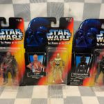 StarWars collection : Star Wars Action Figurines (Lot de 3) 1995 Kenner C-3PO Chewbacca Tie Pilote New