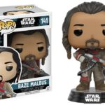 Figurine StarWars : Funko POP! Vinyl Star Wars Rogue One Baze Malbus Model Figurine No 141