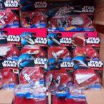 StarWars collection : DISNEY HOTWHEELS STAR WARS MINI COLLECTORS FIGURINES NEW BOXED