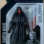 "StarWars collection : Hasbro Star Wars The Black Series 6"" inch Archive Darth Maul Action Figure"