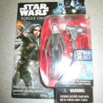 "StarWars collection : Disney Star Wars Coquin un 3.75 "" Figurine Articulée Sergent Jyn Erso Nouveau"
