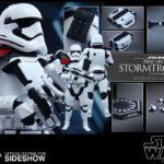 "StarWars figurine : Hot Toys Star Wars Force Awakens Premier Ordre Stormtrooper Officier 12 "" Figure"