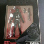 Figurine StarWars : STAR WARS - BLACK SERIES - DEATH TROOPER  - WALMART EXCLUSIVE - 10 CM - REF 5147
