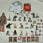 "Figurine StarWars : Lot 26 figurines et autres  ""STAR WARS"" Disney Infinity 3.0 jeu ps3 et Chewbacca"